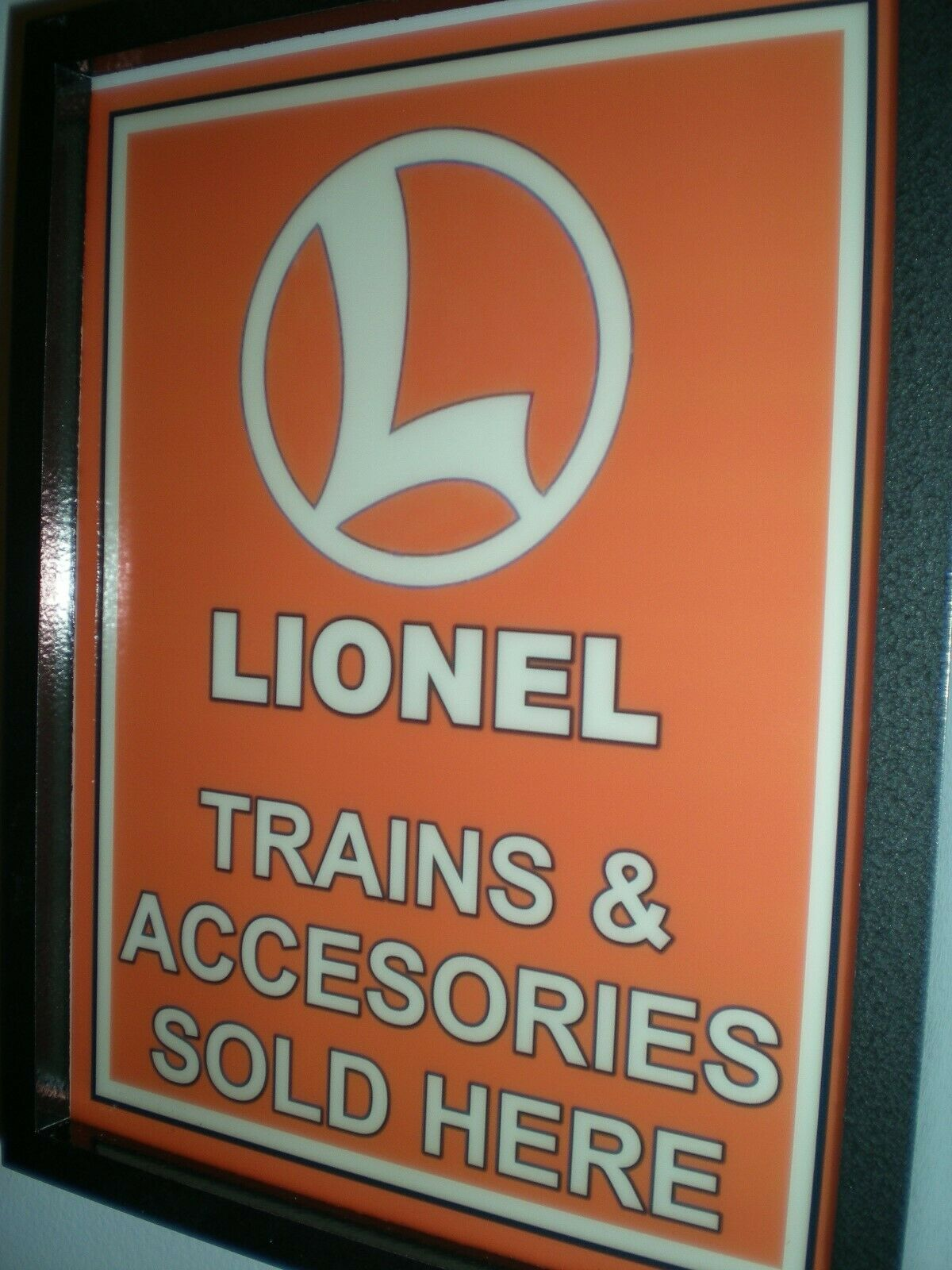 Tren Lionel Set Tienda de Juguetes Cueva de hombre Iluminado Cochetel De Publicidad