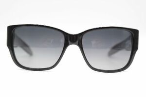 Mosley-Tribes-BKWH7-57-17-Black-Oval-Sunglasses-New
