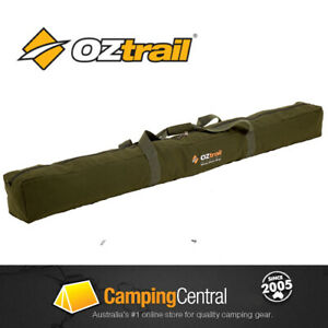 Image is loading OZTRAIL-CANVAS-TENT-POLE-BAG-FITS-UP-TO-  sc 1 st  eBay & OZTRAIL CANVAS TENT POLE BAG *****FITS UP TO 20 X 9FT STEEL TENT ...