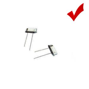 12Pcs HC-49S 49s 8.000MHZ 8MHZ 8M Hz 20PF DIP Crystal Oscillators Low Profile
