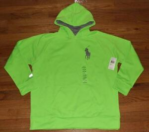 a7fd1806e25 NEW NWT Boys Polo Ralph Lauren BIG PONY Pullover Hoodie Hooded ...