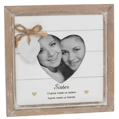 Vintage Shabby Chic Sister Photo Frame Gift With Heart 46214 | eBay