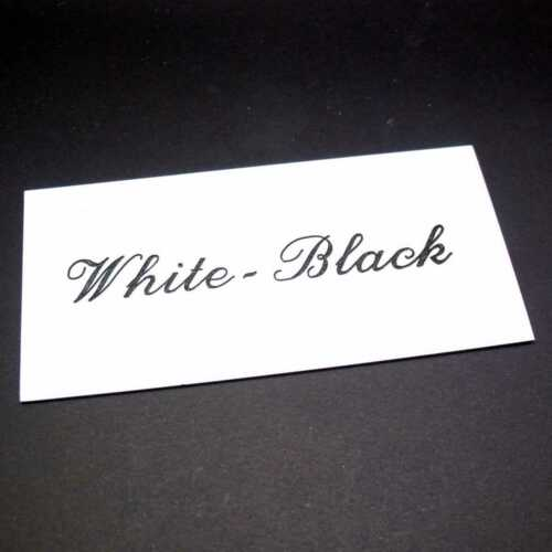Graviermaterial weiß-schwarz 5 Stk 20x30cm für Graviermaschine gravograph set#7