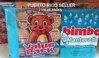 Puerto Rico Bimbo Mantecado Cream Sandwich Cookies Galletas Candy Sweets Snack 2