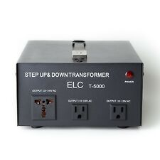 5000 W Watt Step Up Down Voltage Converter Transformer
