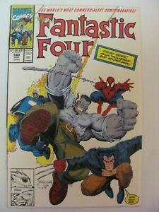 Fantastic-Four-348-Marvel-Hulk-Wolverine-Spider-Man-Ghost-Rider-app-9-4-NM