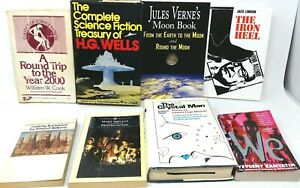 8-Book-Lot-THE-GRANDFATHERS-OF-SCIENCE-FICTION-Early-SciFi-Ancestors-of-Sci-Fi