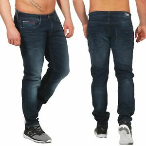 Tommy-Jeans-Slim-Scanton-Homme-Jeans-Slim-Fit-Cdblst-Pantalon-Bleu-Fonce-Stretch