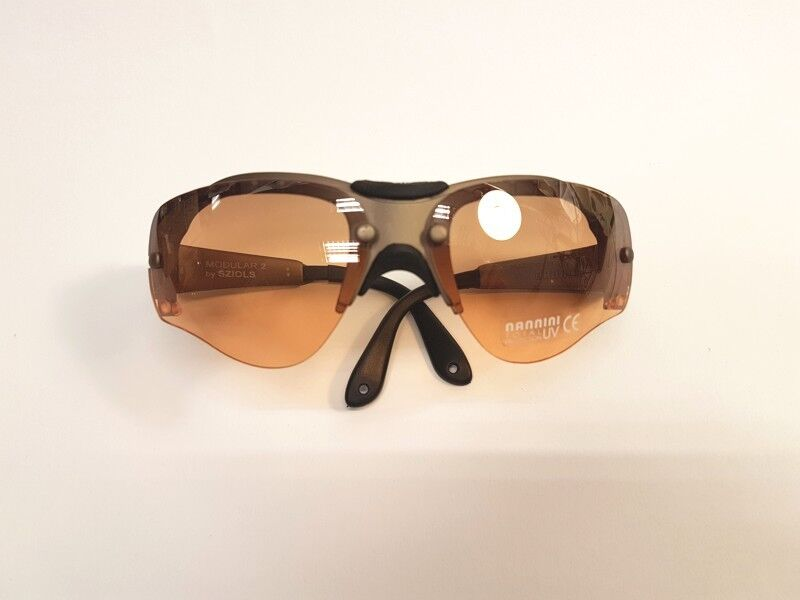 Sziols Modular 2 Bike Bicycle Glasses Sand exchange Glasses orange  and Brown-NEW -  will make you satisfied