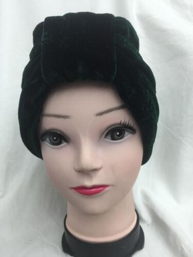 Velvet Turban BEANIE BOW Cap Scarf Headwear Chemo Vintage Bandana Hair Loss