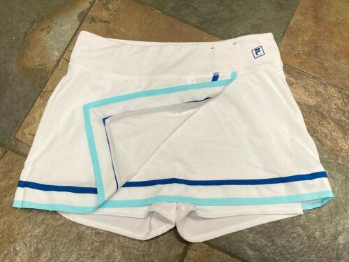 0920 FILA Sport Large White Tennis/Golf skort with