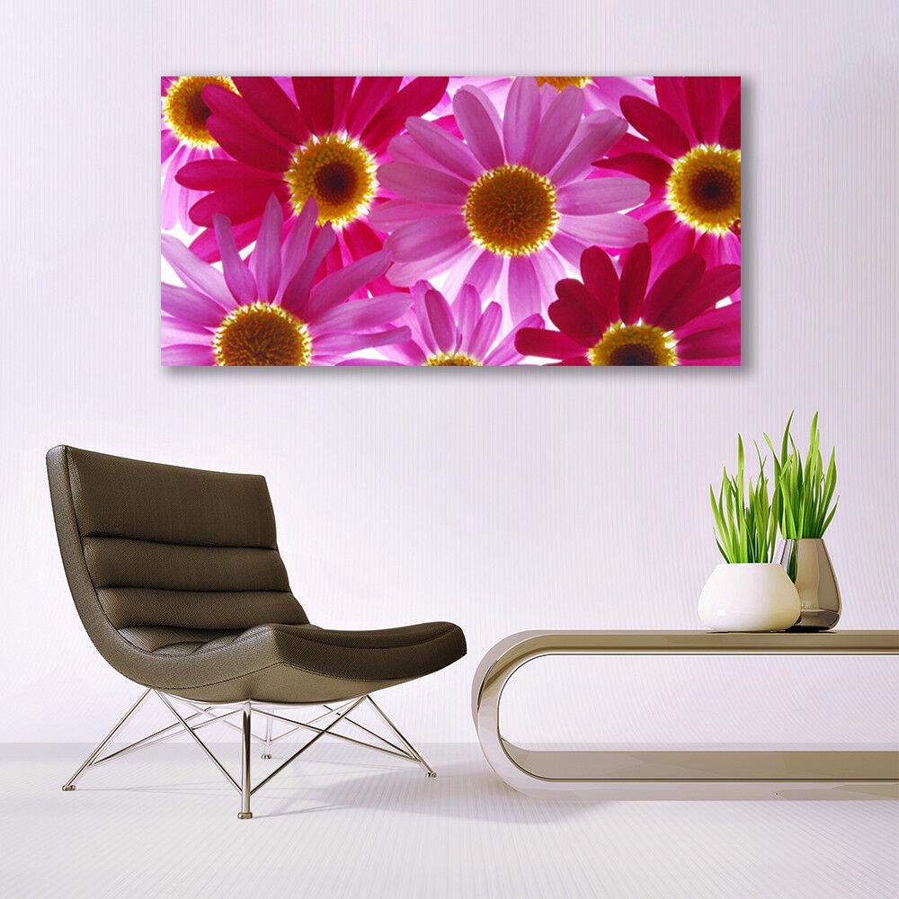 Immagini di vetro Muro Immagine Stampa su su su vetro 140x70 fiori piante e35f8d