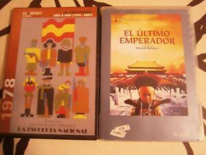 Lote-2-DVD-El-Ultimo-Emperador-La-escopeta-Nacional