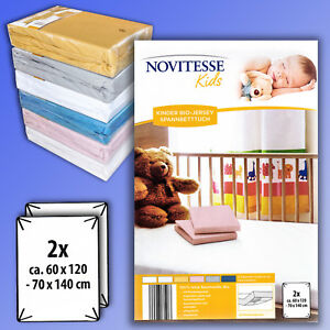 Image Is Loading Novitesse Kids 2 Pcs Jersey Ed Sheet Children