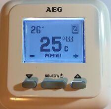 Zeitschaltuhr Fußbodenheizung Temperaturregler AEG FTD 720 Raum Uhrenthermostat