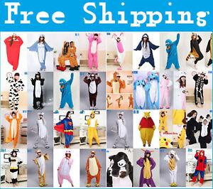Unisex-Adult-Pajamas-Kigurumi-Cosplay-Costume-Animal-Sleepwear-Suit