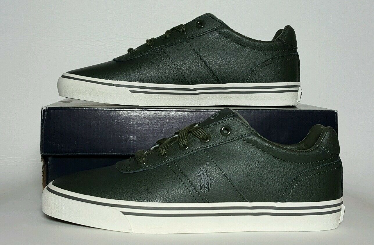 POLO RALPH LAUREN MEN HANFORD SPORT LEATHER NEW BOX MULTIPLE SIZES 816543729003