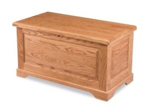 Details About New Country Farmhouse Solid Oak Blanket Hope Chest Wooden Storage Trunk Bench