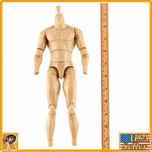 Fury Tank Division-Nude Body 1//6 Scale-Redman Action Figures
