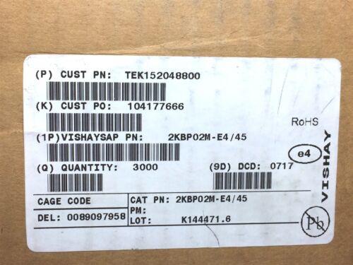 2KBP02M-E4//45 VISHAY DIODE RECT 200V 2A 4PTH ROHS 10 PIECES