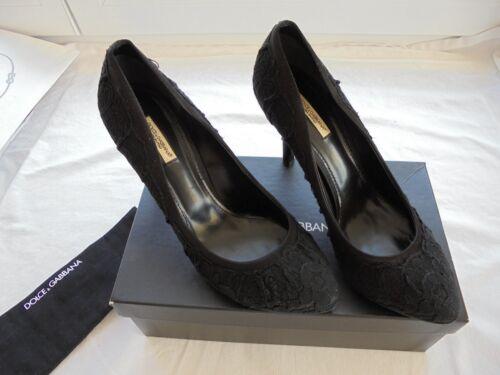 alti nuove in Dolce 39 Tacchi Scarpe 39 650 Sz 5 Gabbana lacci 40 pelle pompe W Np con UFSnAqd
