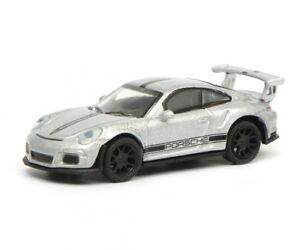 Porsche-911-GT3-Rs-Silver-1-87-Art-No-452630700-Schuco-H0-Model