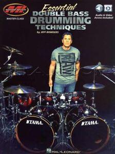 Essential Double Bass Drumming Techniques Sheet Music Book/audio/vidéo Mode-eo Method Fr-fr Afficher Le Titre D'origine Jouir D'Une RéPutation éLevéE Chez Soi Et à L'éTranger