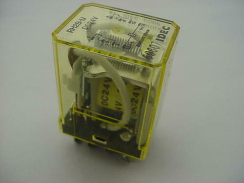 Idec RH2B-U Relay DC24V NEW   Ships on the Same Day of the Purchase