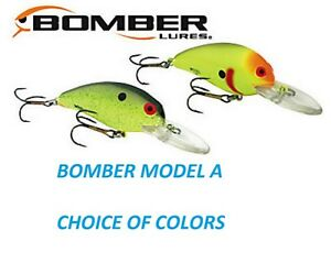Bomber-Model-6A-2-1-8-3-8-oz-Choice-of-Colors