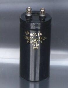 1pcs-Hitachi-HCG-Fa-35v-100000uf-Elektrolytische-Kondensator-50x110mm-105