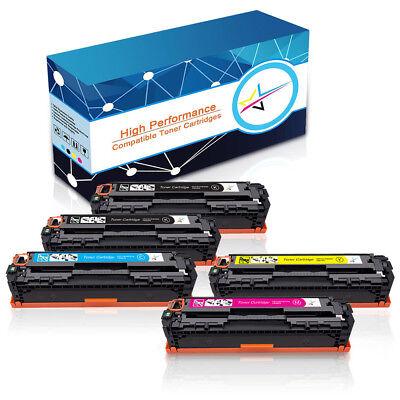 5 Pack Laser Toner CF210A 131A Black Color Set For HP Pro200 Laserjet M276n M251