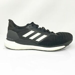 Adidas-Mens-Solar-Glide-BB7447-Black-Running-Shoes-Lace-Up-Low-Top-Size-10-5