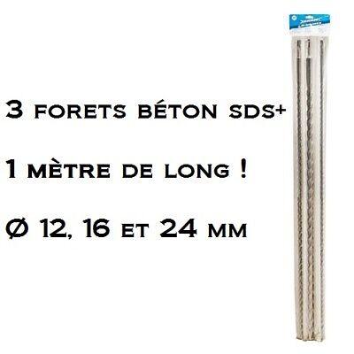 16 mm /& 24 mm TE698 Long SDS Plus Forets 600 mm Maçonnerie forets 12 mm