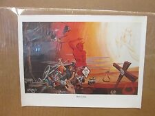 Vintage Roth '67 Born to Ride motorcycle biker small poster Print 11260