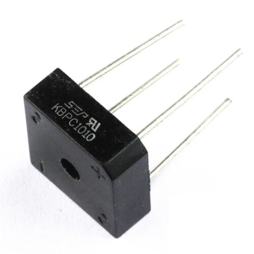 2PCS Bridge Rectifier KBPC1010 KBPC-1010 10A 1000V NEW