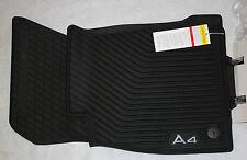 Rubber Matten Audi A4.Buy Audi A4 Rear Rubber Mats 8w0061511041 Online Ebay