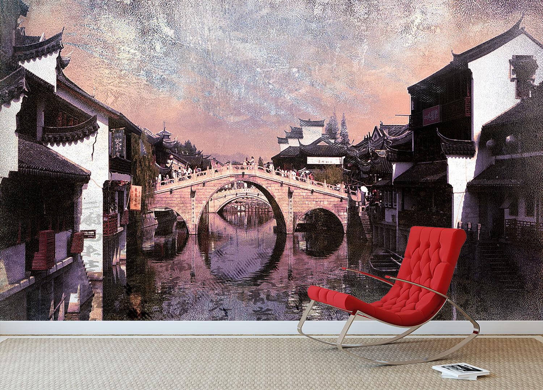 3D Water Village 78 Wall Paper Murals Wall Print Wall Wallpaper Mural AU Kyra