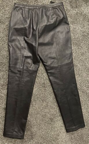 genuine leather pants women 12
