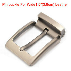 Top-quality-alloy-men-039-s-Belt-buckle-pin-buckle-For-Wide-1-5-034-3-8cm-Leather