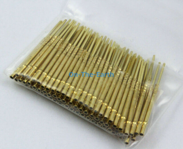 100 Pieces R75-3W Test Probe Pogo Pin Receptacle fit P75 Series