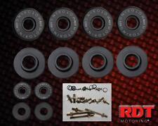 Black Aluminum Engine Valve Cover Hardware Bolt Kit Honda Civic Integra B-SERIES