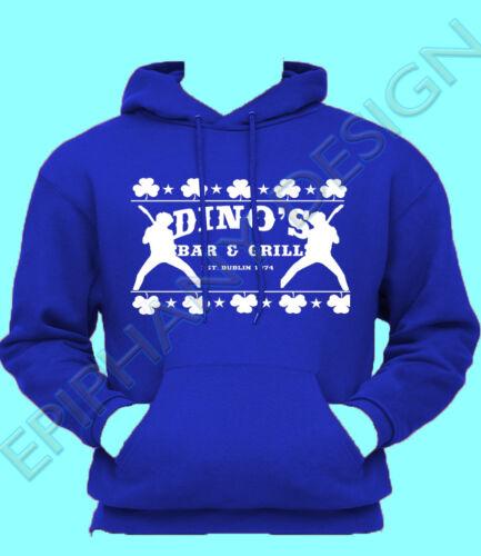 Thin Lizzy Inspired Hoody Phil Lynott T-Shirt Jailbreak Dino/'s Bar /& Grill