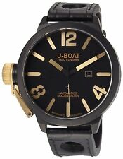 U-Boat Classico 1215 Black Automatic 53mm watch (18K Gold crown)