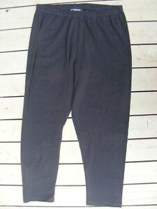 Rockmans-CHARCOAL-GREY-Leggings-7-8-LENGTH-Pants-Size-S-12-NEW