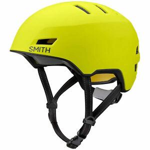 Smith Express Mips Opaco Neon Giallo Viz Casco Bicicletta Ciclismo Bici
