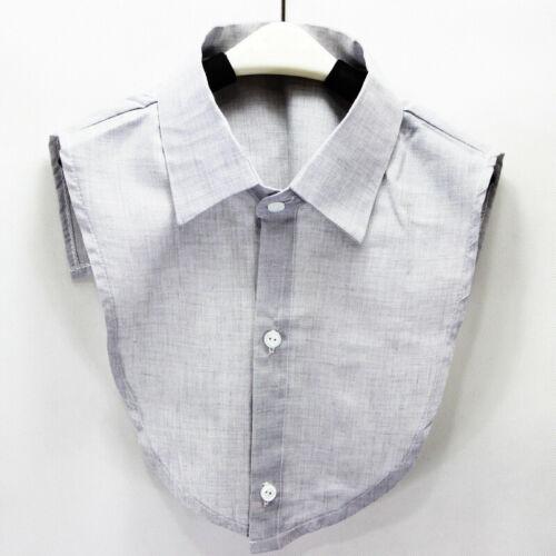 Men Fashion Fake Collar Cotton And Linen Faux Collar Detachable Collar Lapel HOT