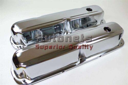 Small Block Mopar Chrome Valve Covers 273 318 340 360 Dodge Plymouth Chrysler