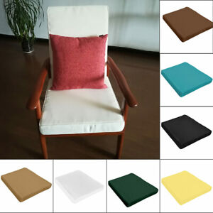 Admirable Details About Waterproof Chair Cushion Seat Pad Outdoor Garden Patio 45D Sponge Mat Removable Cjindustries Chair Design For Home Cjindustriesco