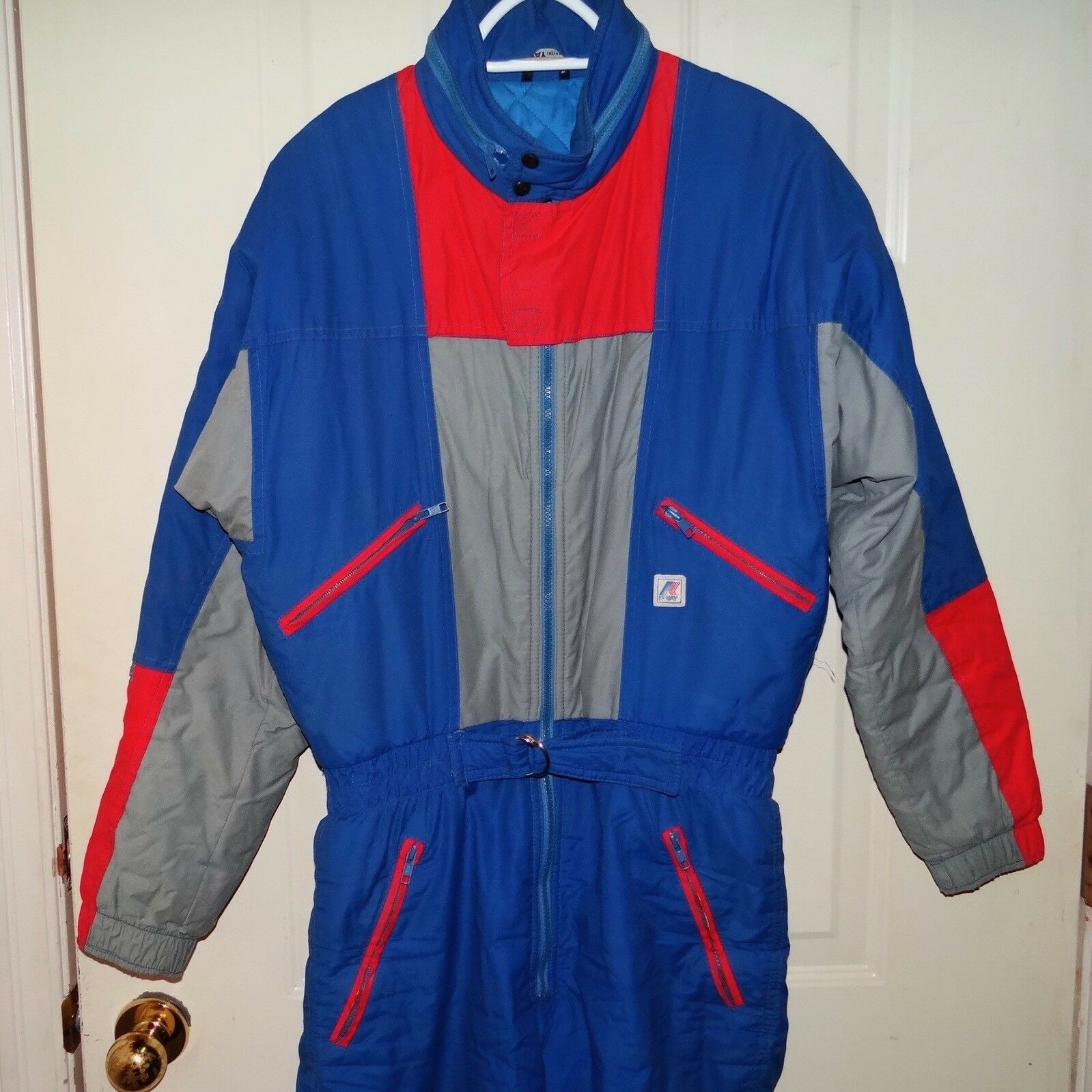 Vtg 80s 90s Mens K-Way France bluee one-piece ski  snow suit size 40 Medium  find your favorite here