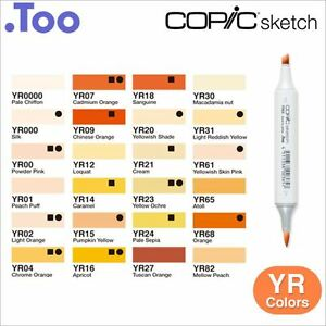 Copic-Sketch-Marker-Pen-034-YR-Yellow-Red-Color-Series-034
